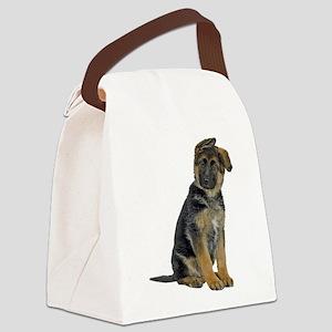 FIN-german-shepherd-puppy-photo Canvas Lunch B