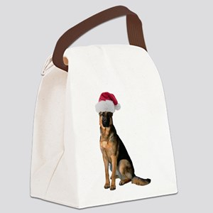 FIN-santa-german-shepherd Canvas Lunch Bag