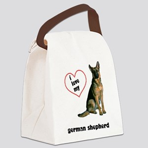 FIN-german-shepherd-love Canvas Lunch Bag