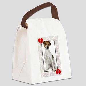 FIN-jack-of-hearts Canvas Lunch Bag