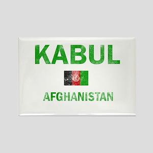 Kabul Afghanistan Designs Rectangle Magnet