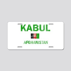 Kabul Afghanistan Designs Aluminum License Plate