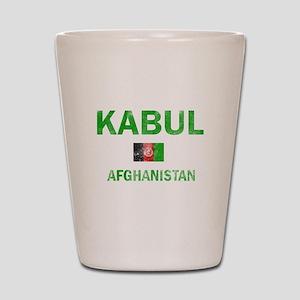 Kabul Afghanistan Designs Shot Glass