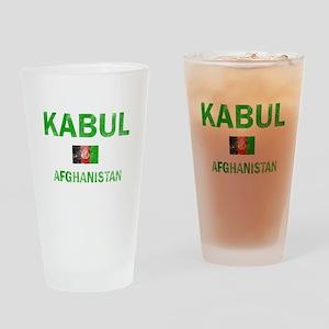 Kabul Afghanistan Designs Drinking Glass