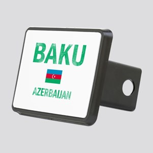 Baku Azerbaijan Designs Rectangular Hitch Cover