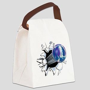 Breakthrough Bowling Ball Canvas Lunch Bag