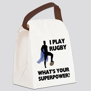 FIN-rugby-superpower Canvas Lunch Bag
