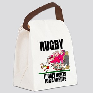 FIN-rugby only hurts Canvas Lunch Bag