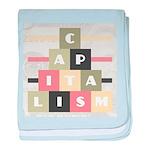 Capitalism baby blanket