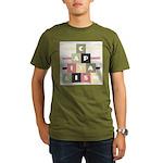 Capitalism Organic Men's T-Shirt (dark)
