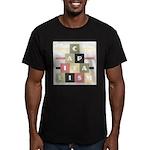 Capitalism Men's Fitted T-Shirt (dark)