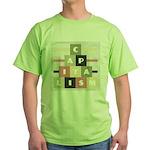 Capitalism Green T-Shirt