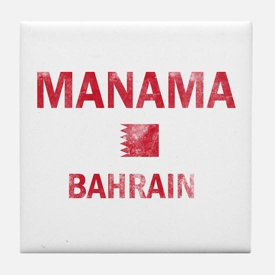 Manama Bahrain Designs Tile Coaster