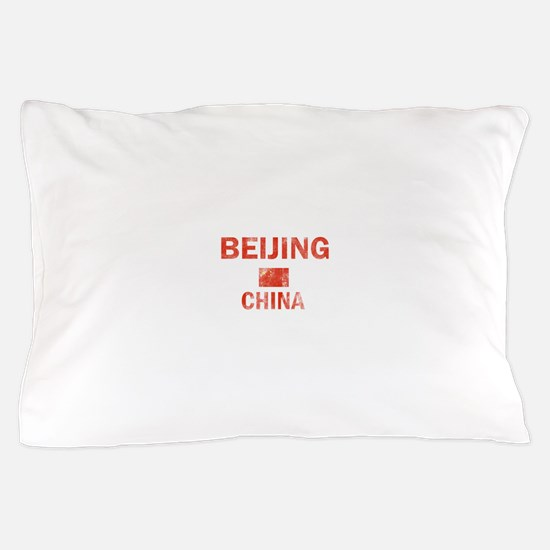 Beijing China Designs Pillow Case