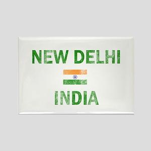 New Delhi India Designs Rectangle Magnet