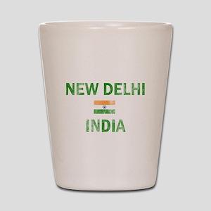 New Delhi India Designs Shot Glass