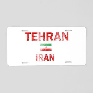 Tehran Iran Designs Aluminum License Plate