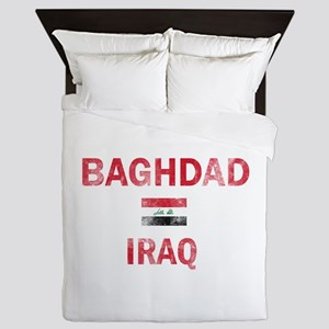 Baghdad Iraq Designs Queen Duvet
