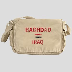 Baghdad Iraq Designs Messenger Bag