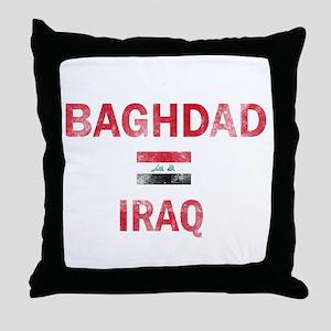 Baghdad Iraq Designs Throw Pillow