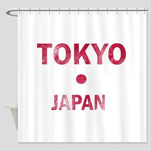 Tokyo Japan Designs Shower Curtain