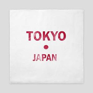 Tokyo Japan Designs Queen Duvet