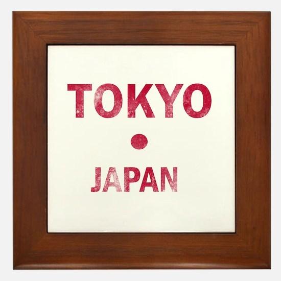 Tokyo Japan Designs Framed Tile