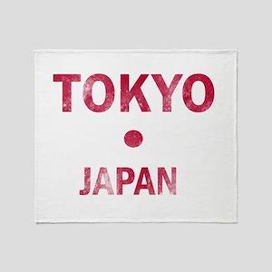 Tokyo Japan Designs Throw Blanket
