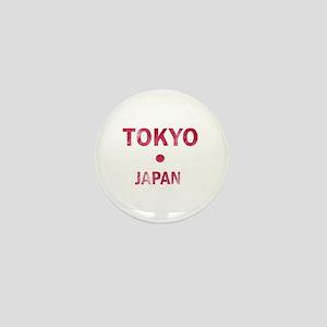 Tokyo Japan Designs Mini Button