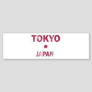 Tokyo Japan Designs Sticker (Bumper)