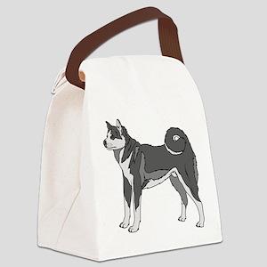 Akita dog Canvas Lunch Bag