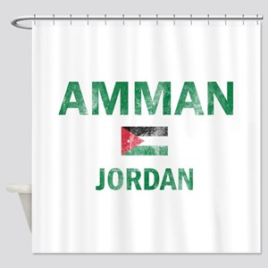 Amman Jordan Designs Shower Curtain