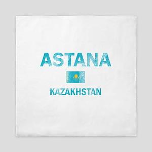 Astana Kazakhstan Designs Queen Duvet