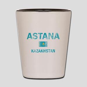 Astana Kazakhstan Designs Shot Glass