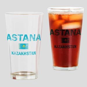 Astana Kazakhstan Designs Drinking Glass