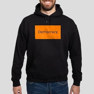 Democracy Hoodie (dark)