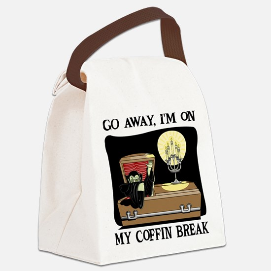 Coffin Break Canvas Lunch Bag