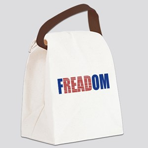 FIN-librarian-freadom Canvas Lunch Bag
