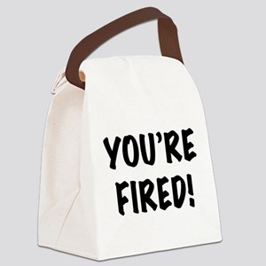 FIN-youre fired Canvas Lunch Bag