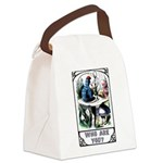 Who Are You Canvas Lunch Bag