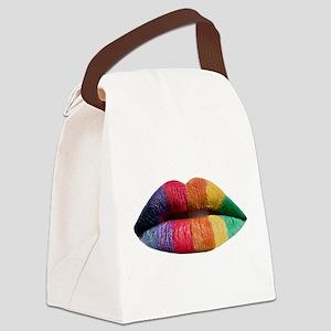 lipstick_lesbian Canvas Lunch Bag