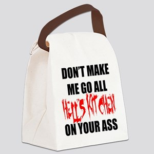 All Hell's Kitchen Canvas Lunch Bag