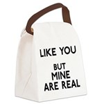 FIN-like-you-mine-real Canvas Lunch Bag