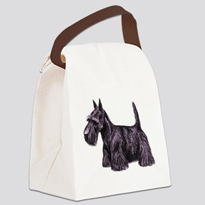 dover scottie Canvas Lunch Bag
