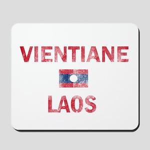Vientiane Laos Designs Mousepad