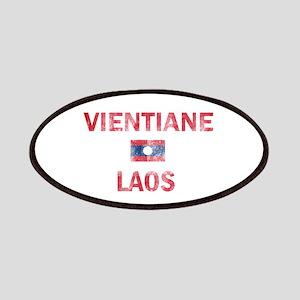 Vientiane Laos Designs Patches