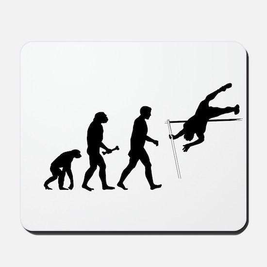 Pole Vaulter Evolution Mousepad