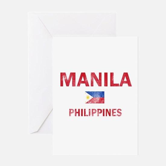 Manila Philippines Designs Greeting Card