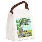 FIN-ass-coffee-break Canvas Lunch Bag