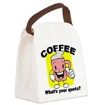 FIN-coffee-quota Canvas Lunch Bag